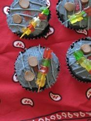 Chocolate Cupcake Mini Grills
