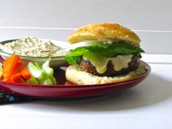 Spice Stuffed Hamburgers
