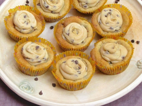 Cookie Dough Cookie Cups