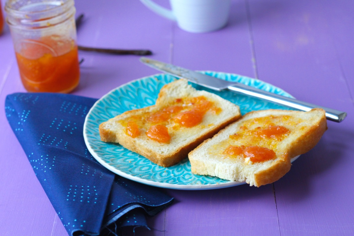 Peach Vanilla Bean Jam | Island Bakes
