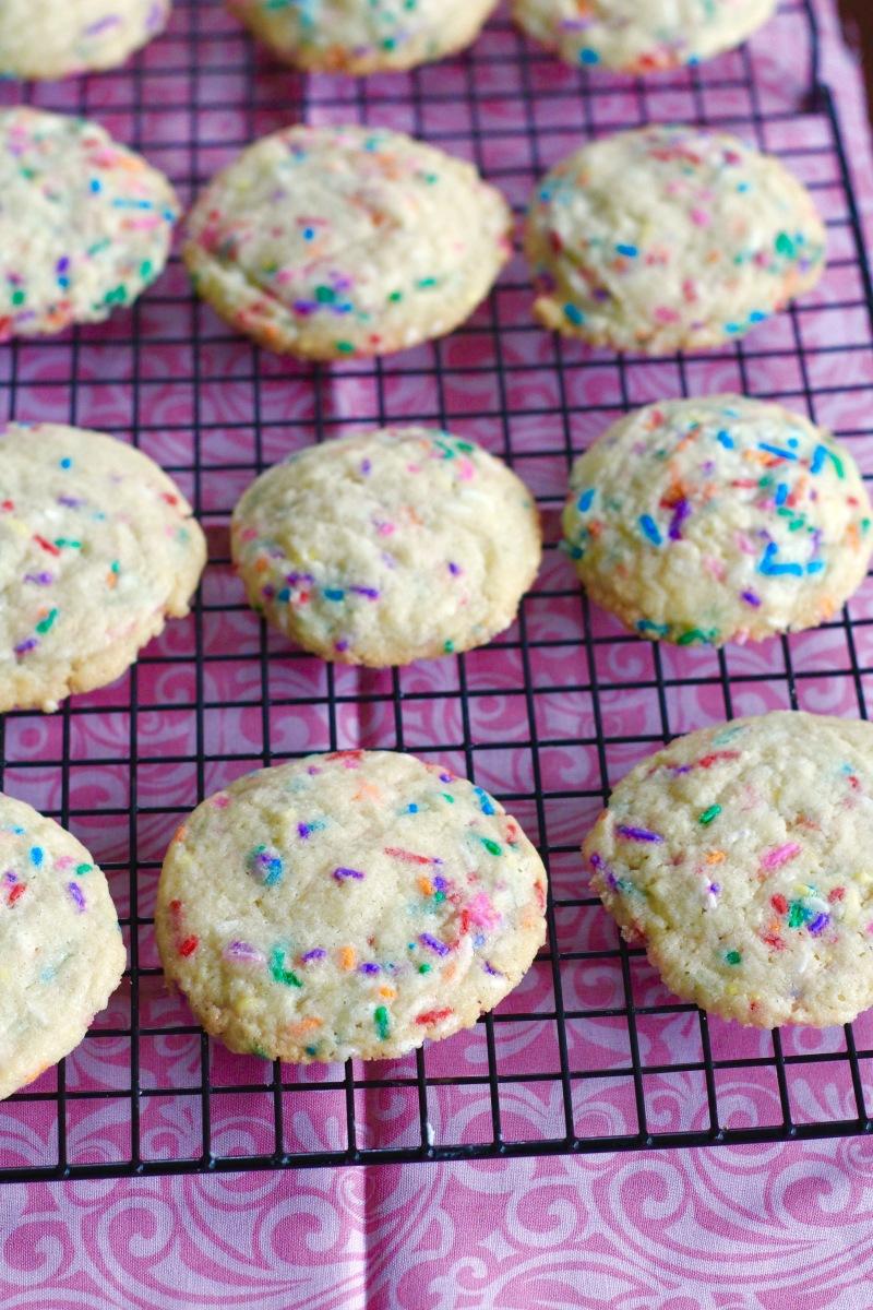 Confetti Sprinkle Sugar Cookies
